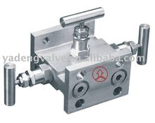 Forged Steel High Pressure Stainless Steel 3-Valve Manifold,and 2/3/5 Valve Manifold