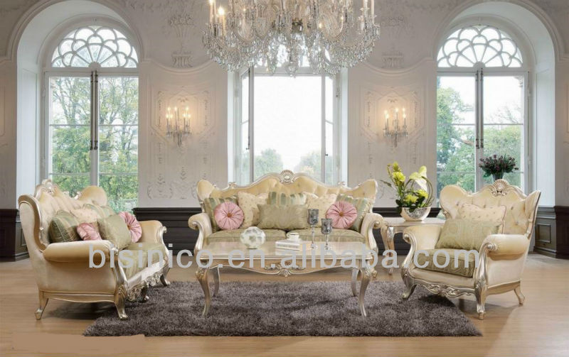 De lujo mobiliario de sala estilo franc s antiguo sof for Sofas de estilo clasico