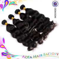 5A grade 100% virgin unprocessed burgundy remy hair for weaving