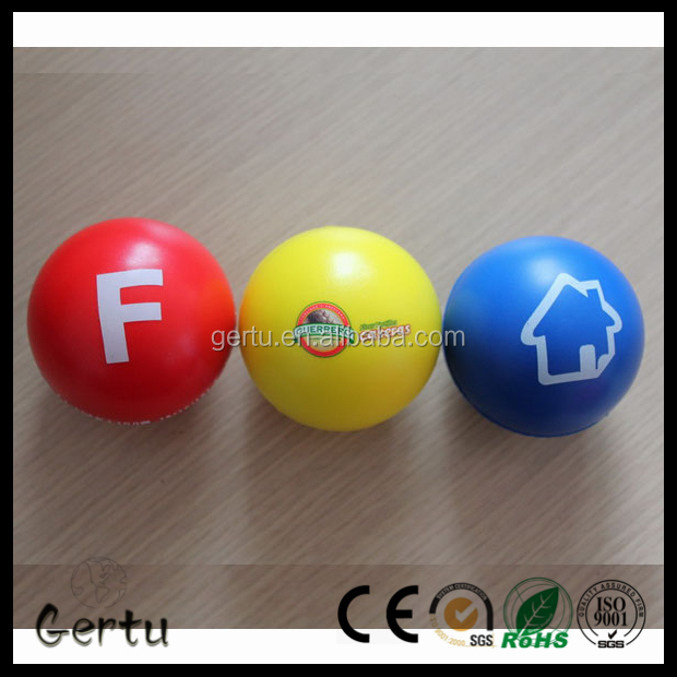 Customized Promotional PU Foam Anti Stress Ball