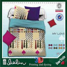 Nantong brand names fashion and popular 3D bedding set/ bedding set/ bed sheet set