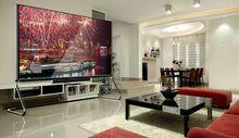 LED TV bus entertainment