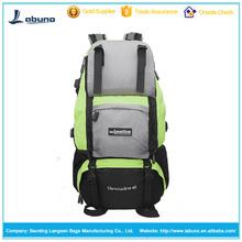 Hot sell made in china climbing backpacks bag 50L capacity nylon climbing backpacks