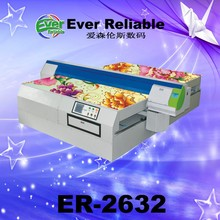 Good quality flatbed digital glass outdoor table led uv printer