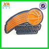 Custom logo metal football enamel badges