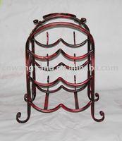 Metal wine holder J099