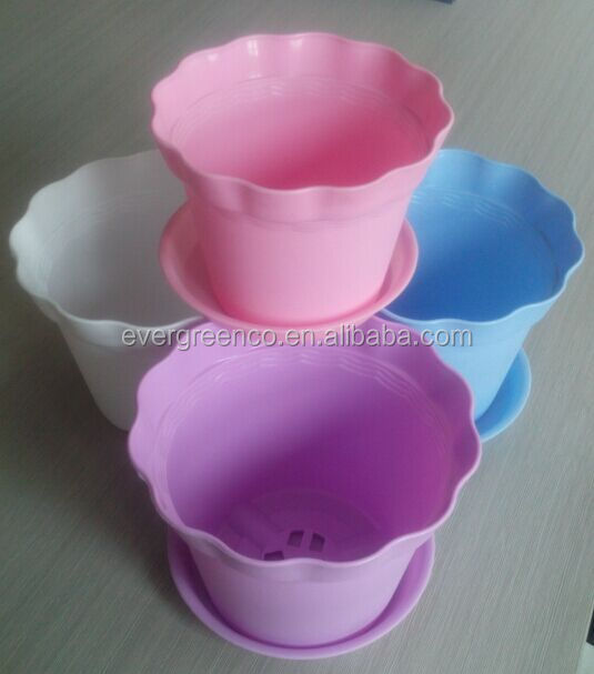 Balcony Cheap Bulk Plastic Flower Pot Balcony Flower Pot