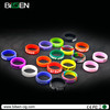 18650 mod ecig accessory ecig ring silicone rubber beauty ring for e cig