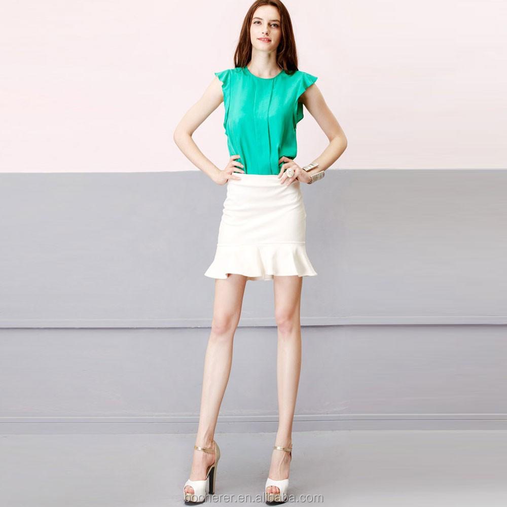 Brilliant High End Women39s Formal Woolen Skirt Casual Solid A Line Woolen Skirts