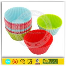 new design Wholesale round silicone muffin cake cupcake
