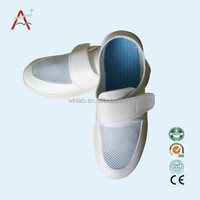 Anti-static PU Sole and Leather Surface esd anti-slip shoe covers for Unisex