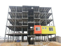 china hot sale long span safe one stop service flat roof steel building