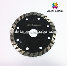 Turbo wave cutting blade for stone, marble , grante