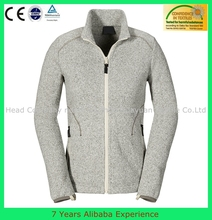 pomotional winter full zipper womens fleece jacket wholesale clothing (7 years alibaba experience)