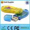 Hot Sale Free Sample usb flash drive shoe shaped plastic usb flash drive for promotional gift