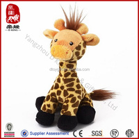 New arrival toy animal stuffed giraffe simulate plush toy giraffe
