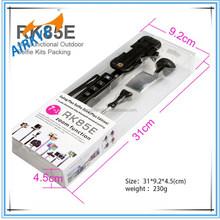 2015 Manufacturer promote portable 7 in 1 rk85e wireless aluminum selfie stick shutter 7 in 1 rk85e selfie stick