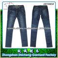 Algodón/ Elásticos Adelgazan Los Pantalones Vaqueros Atractivos De Las Mujeres De China