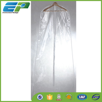 waterproof clear plastic dress cover bag