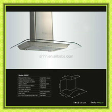 best material copper kitchen island range hood