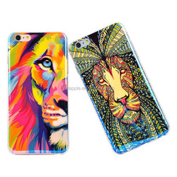 2015 Zhejiang Jinhua New arrival IMD Bule lion style wholesale mobile phone case for iphone 6