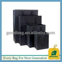 Offset printing art paper tote bag, MJ-PP0385-Y, China Manufacturer