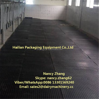 Black Rubber Mattress for Dairy Cow Shed