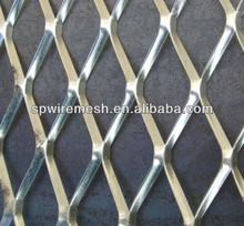 spray paint expanded metal mesh