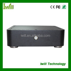 """Mini pc case S197-H55 with 2.5"""" HDD and fan"""