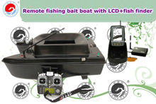 Remote Fishing Bait Boat with LCD+Fish Finder