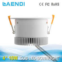 Top Exported Selling led cob downlight with anti-glare lens 10w 900lm