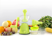 shule juicer pure hand operated made of ABS home use ice cream Fruit Squeezer high quality kitchenware chinese food machine