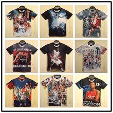 VT492 Factory custom wholesale many style 3d printing t shirt