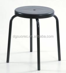 Black ESD Antistatic cleanroom Chair lab stool