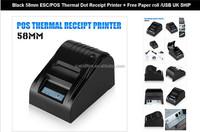 USB 58mm POS Line Thermal Dot Receipt Printer POS PRINTER