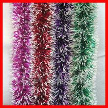 shinning christmas tree decoration tinsel garlands