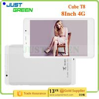 Best Quality Cube T8 Plus 8 inch 2GB 16GB Android 5.1 Silver 4G tablet pc with printer Shenzhen