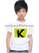 2012 most popular El sound active t-shirt in paris