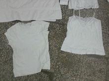 White cotton rags uncut