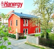 Hanergy 20kw solar panels for sloping roof household system