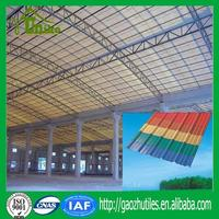 One Layer soundproof pvc corrugated roofing sheets for sheds