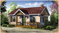High quality Wooden Log cabin