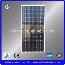 The best price per watt solar panels Monocrystalline Silicon 195w solar panel