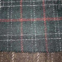 delle donne plaid lana cappotti lana tessuto