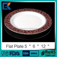 Table decorations health food grade material china ceramic dinnerware