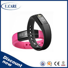 Multifunctional pedometer promotional with clip step/disance/calorie counter super mini pedometer