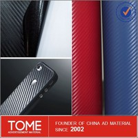 Carbon Fiber Vinyl Film For Car/3D Car Wrap Vinyl Film