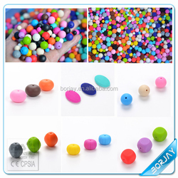 Food Grade silicone teething beads bulk for jewelry