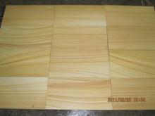 wooden yellow sandstone