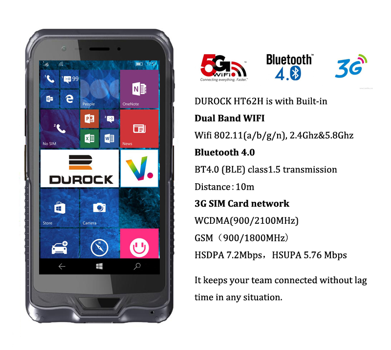 Ip65 Windows Tablet Pc 6 Inch Mobile Data Terminal With